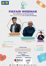 FIKFAIR 2020 BEM FIK Gelar  webinar tentang The Influence of Social Media On Mental Health for Covid-19 Healing
